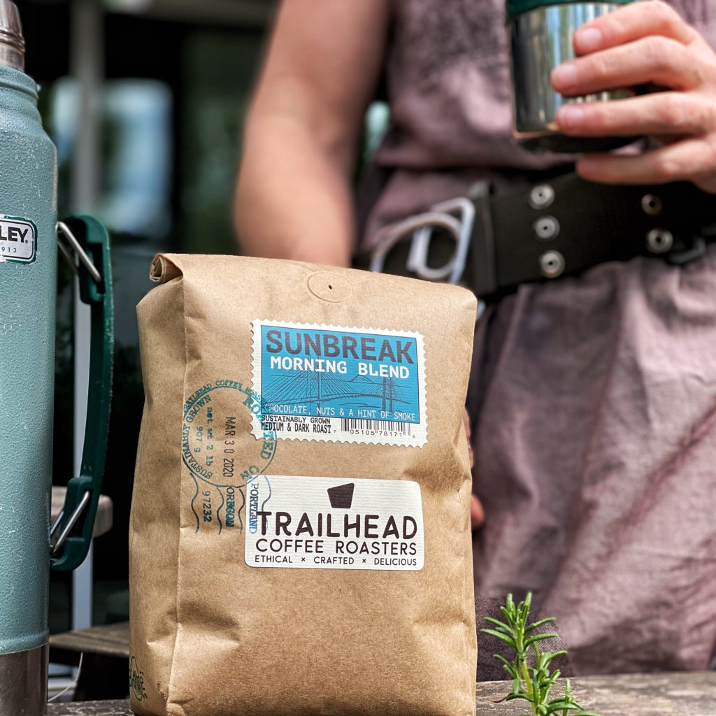 2 lb bag of trailhead coffee